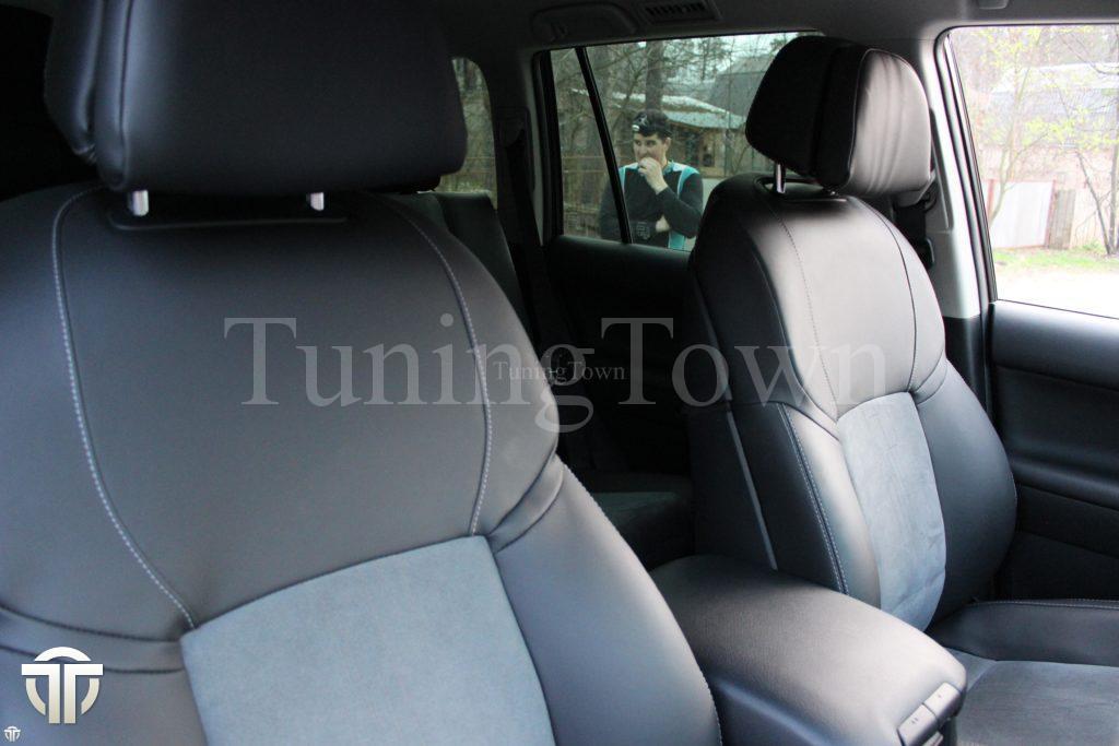 Перетяжка салона Toyota Land cruiser Prado