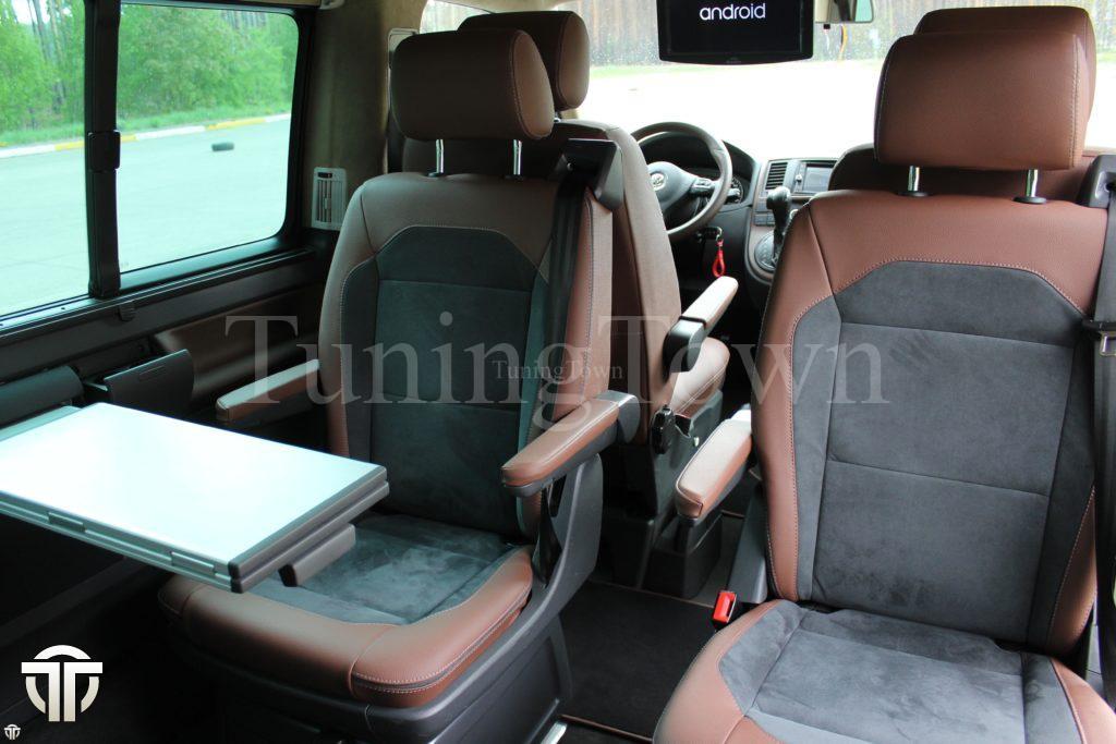 Переоборудование микроавтобуса Volkswagen multivan